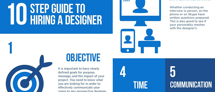 Infographic – 10 Step Guide To Hiring A Designer