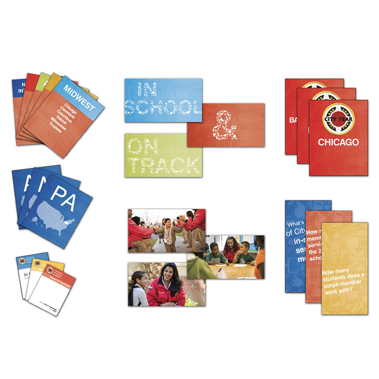 City Year Table Cards