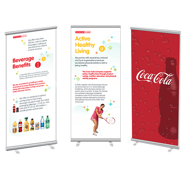 Coca Cola Pop Up Banners