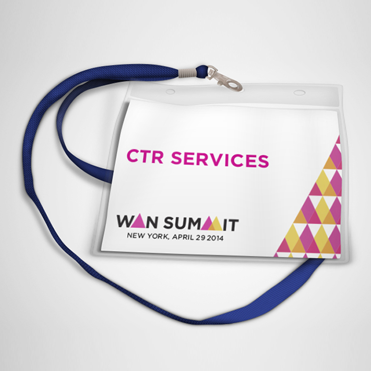 WANN Summit Custom Name Tag Printing