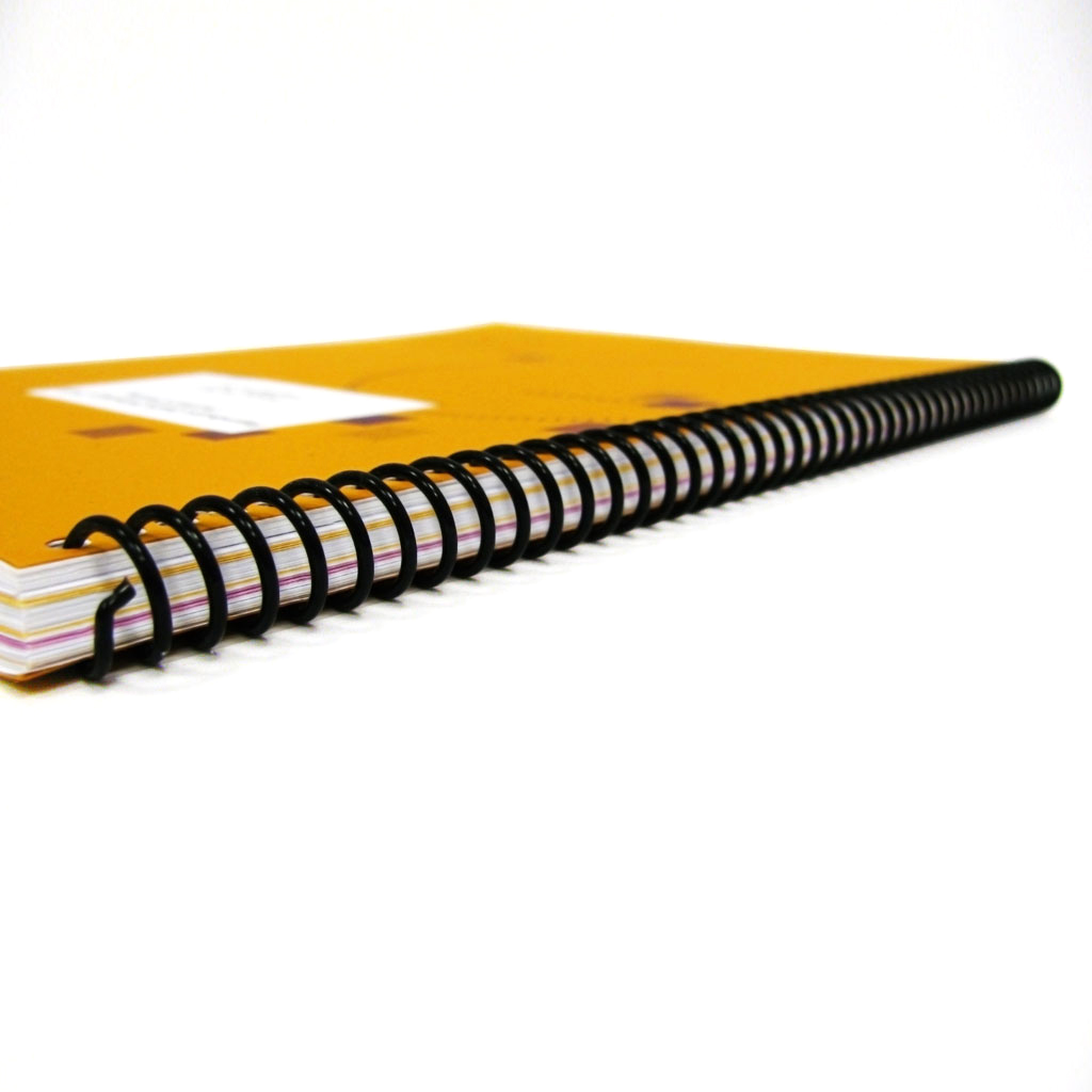 Plastic Coil Bound Book