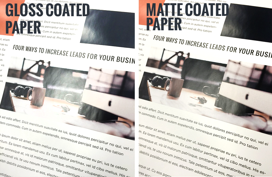 How To Choose Paper With The Right Coating