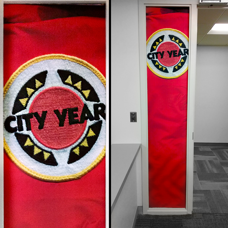 City Year Door Installation